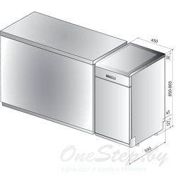 Посудомоечная машина Indesit DSCFE1B10S RU