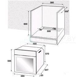Духовой шкаф Beko BRE 22305 X