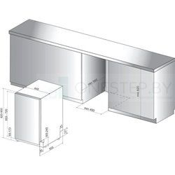Посудомоечная машина Whirlpool WSIO3O23PFEX
