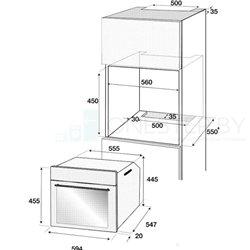 Электрический духовой шкаф Beko BCE 12300 X