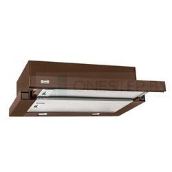 Встраиваемая вытяжка ZorG technology Kleo TL 60 коричневая, купить в Минске