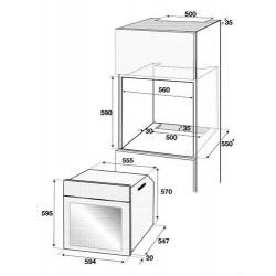 Духовой шкаф Beko BIMM 25400 XMS