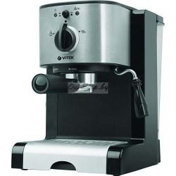 Эспрессо кофеварка Vitek VT-1513 BK купить в Минске, Беларусь