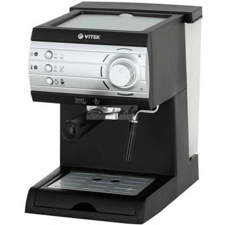 Эспрессо кофеварка Vitek VT-1519 BK купить в Минске, Беларусь