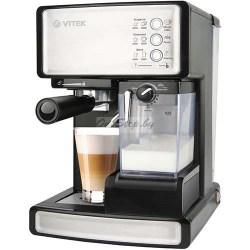Эспрессо кофеварка Vitek VT-1514 BK купить в Минске, Беларусь