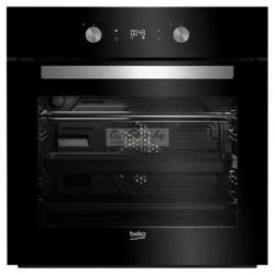 Купить духовой шкаф, чёрного цвета, Beko BIM 24301 BCS в http://onestep.by/dukhovye-shkafy