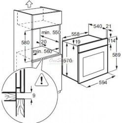 Духовой шкаф Electrolux OPEA 4300 X