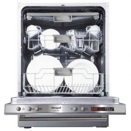 Посудомоечная машина Weissgauff BDW 6138 D, загруженная посудой, купить в Минске, Беларусь